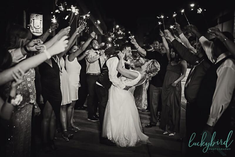 blarney sparkler exit toledo wedding
