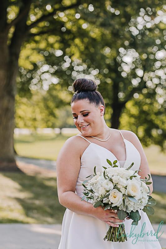 bride at nazareth hall