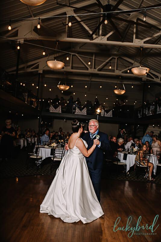 father daughter dance at ladyglen ballroom nazareth hall venue