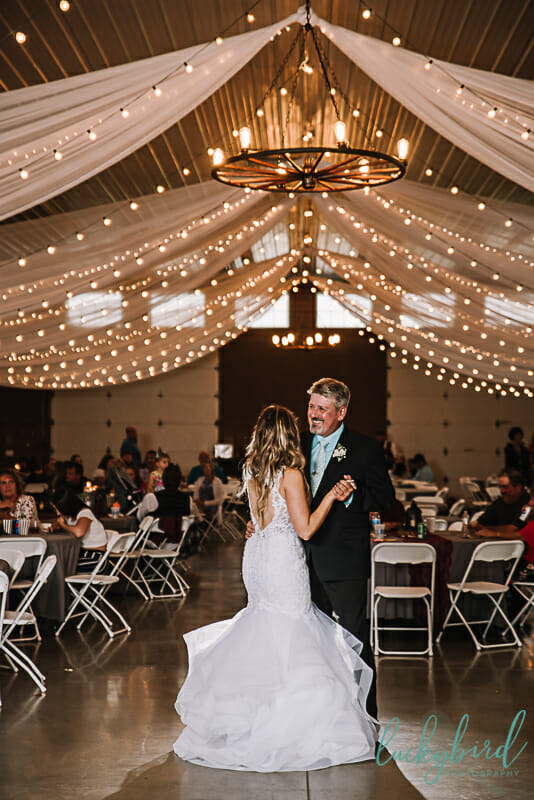 father daughter dance the stables