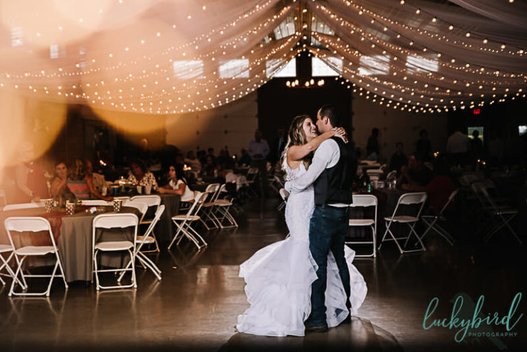 first dance at the stables whitehouse ohio wedding