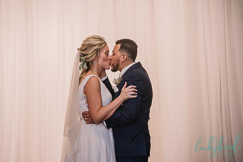 first kiss indoor blarney ceremony
