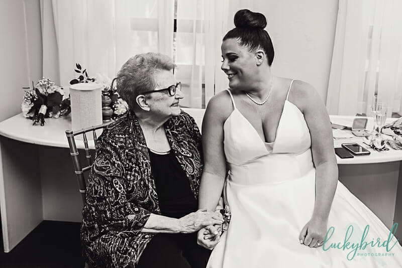 first look with grandma at nazareth hall
