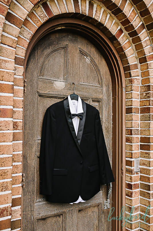 grooms suit at nazareth hall