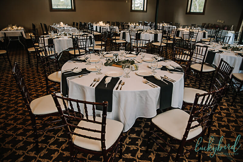 ladyglen ballroom at nazareth hall wedding venue