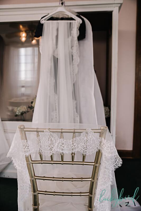 long cathedral veil at nazareth hall