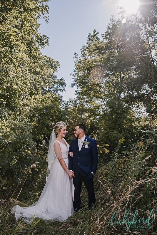 middlegrounds park wedding photos