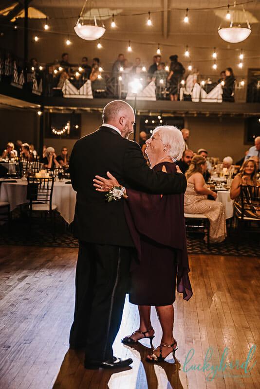 mother son dance at ladyglen ballroom nazareth hall venue