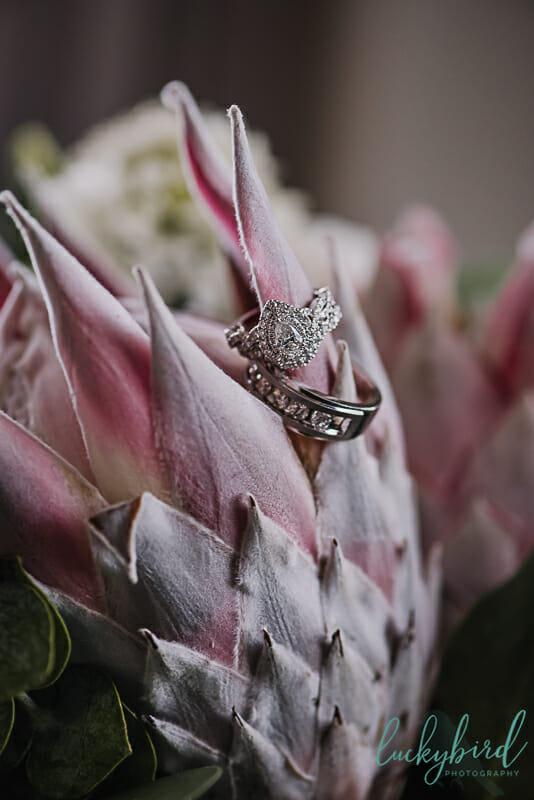 rings on elle flora bouquet