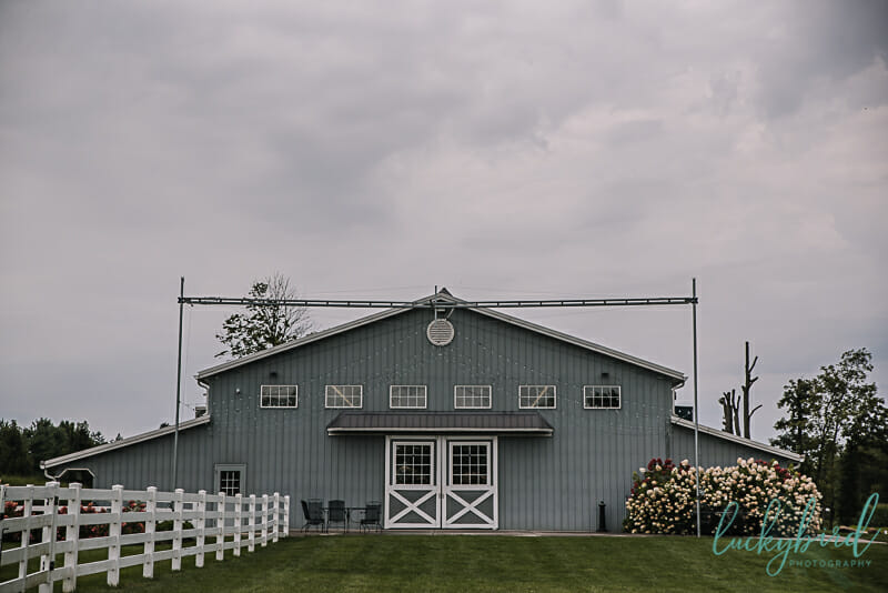 the stables barn wedding in whitehouse ohio
