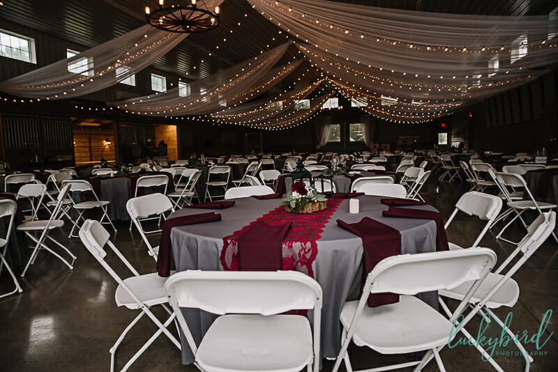 the stables wedding reception