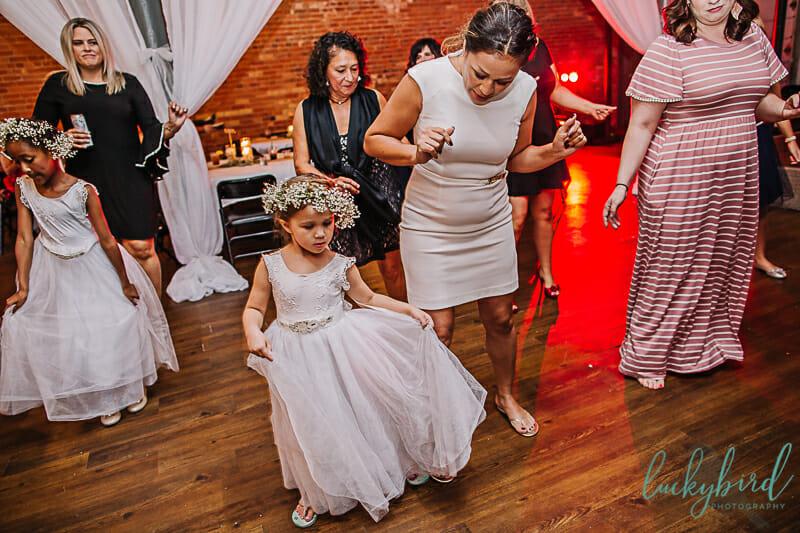 wedding dancing at blarney reception
