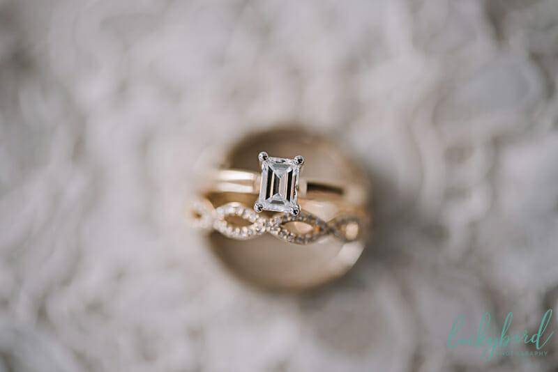 wedding rings at nazareth hall gold
