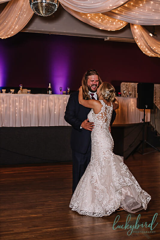 cute first dance country toledo wedding