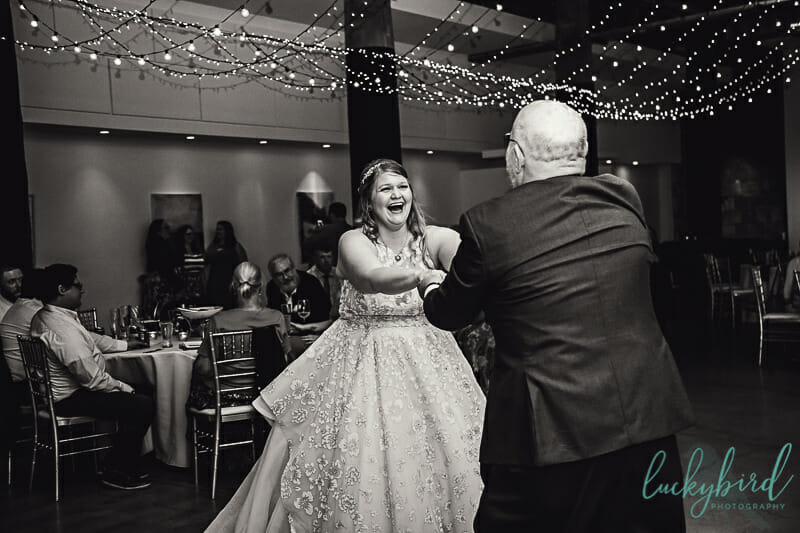 dancing with dad wedding photo