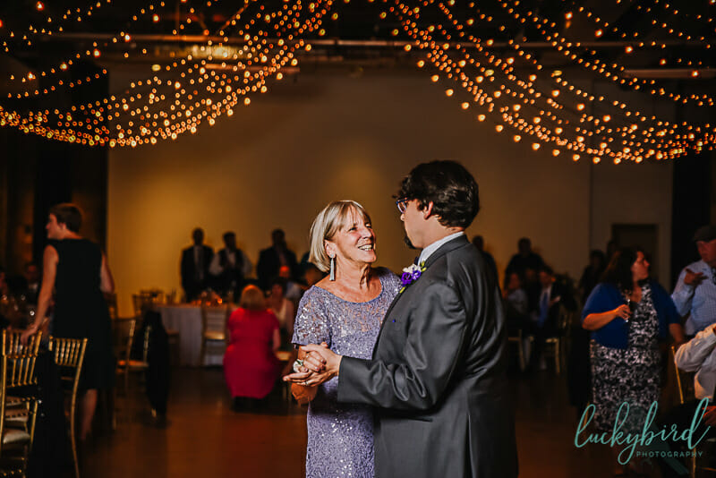 dancing with mom wedding photo