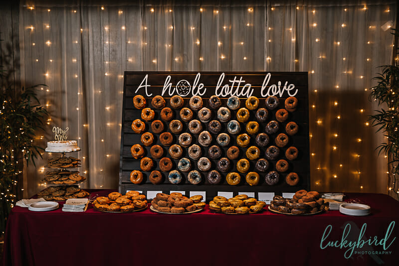 donut wall for wall a hole lotta love