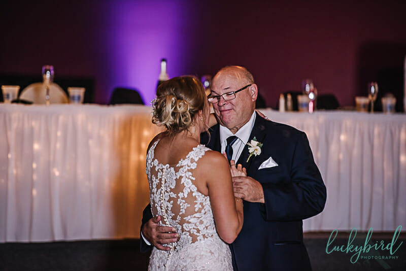 father daughter dance toledo wedding