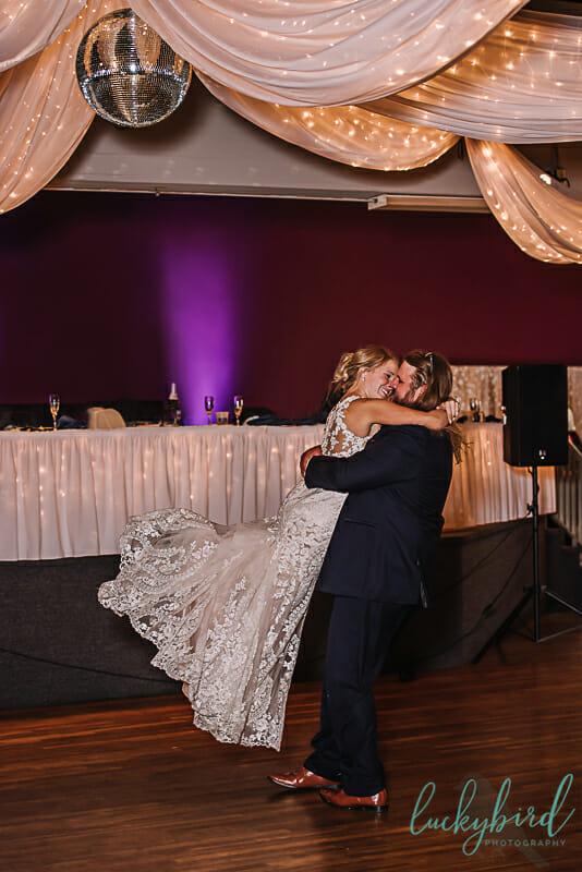 first dance toledo wedding spin
