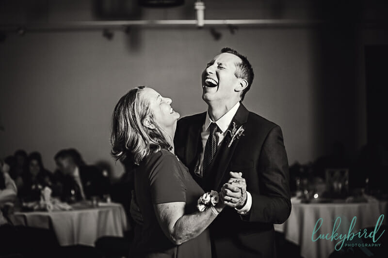 groom and mother son dance laughing photo toledo