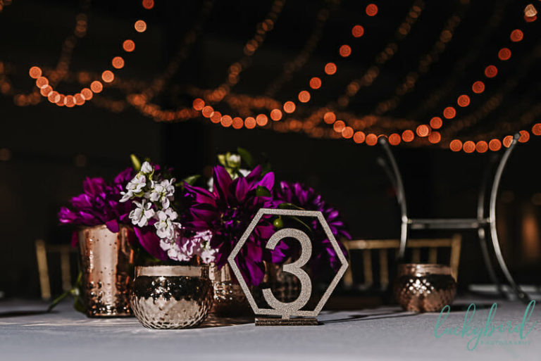 registry bistro wedding centerpieces