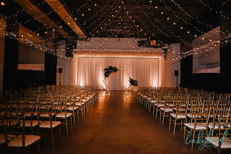 registry bistro wedding ceremony