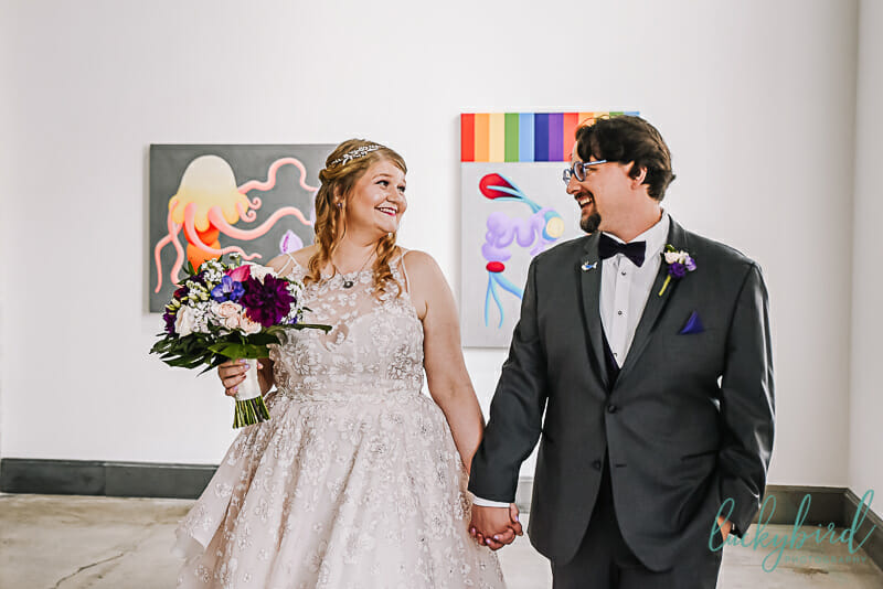 toledo art gallery wedding photography
