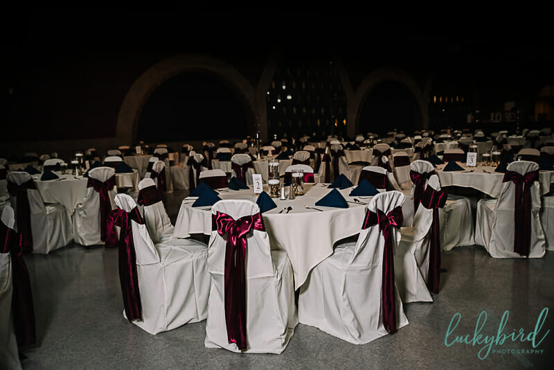 toledo wedding venue with arches