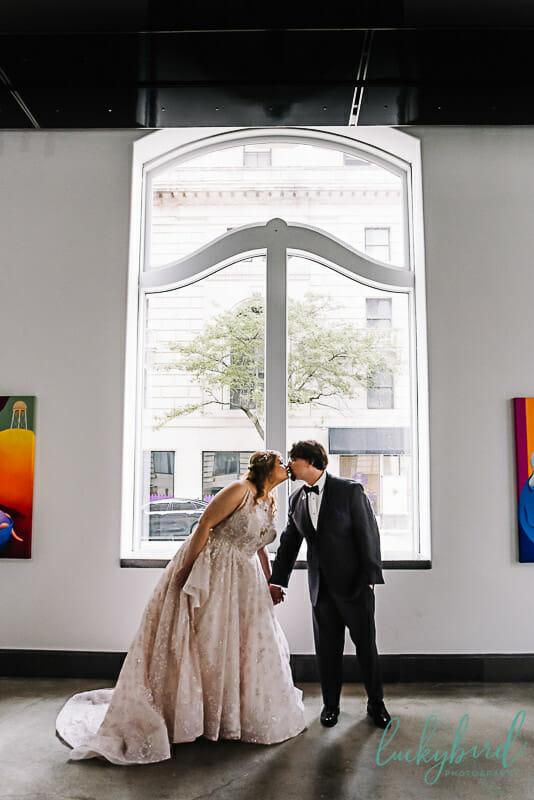 window photo at registry bistro