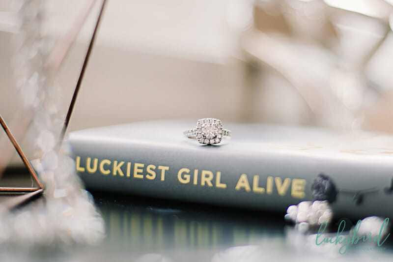 brides ring luckiest girl alive book