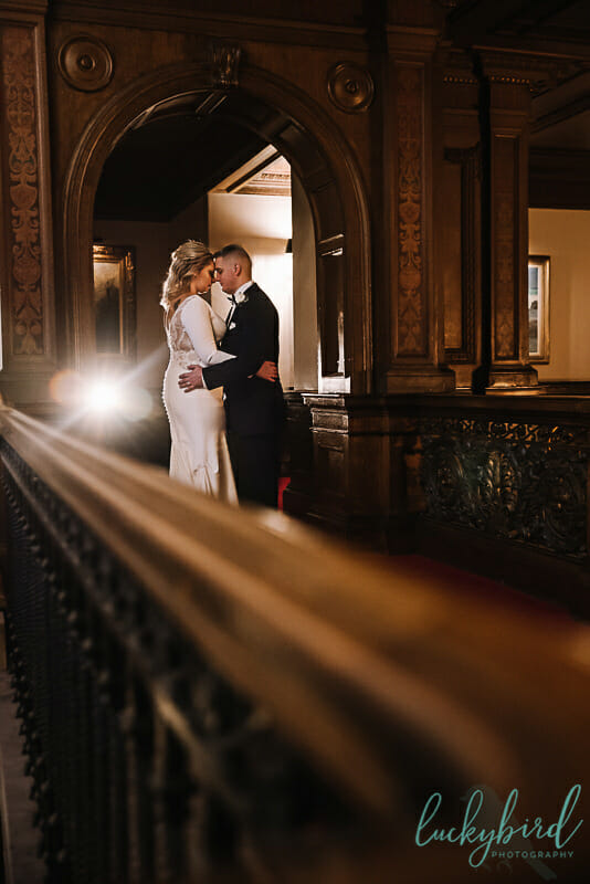 fall toledo club wedding photography