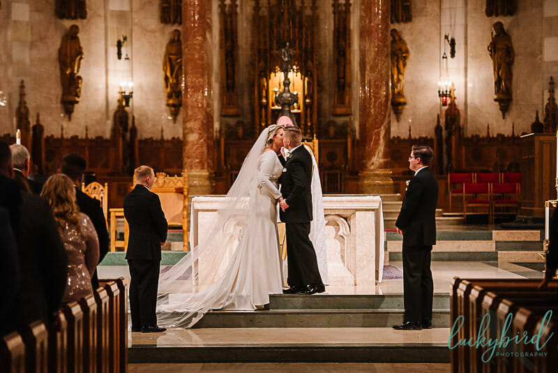 holy rosary toledo wedding ceremony