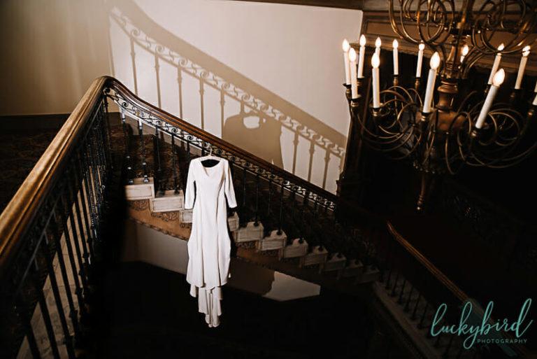 royal wedding inspired wedding dress at toledo club