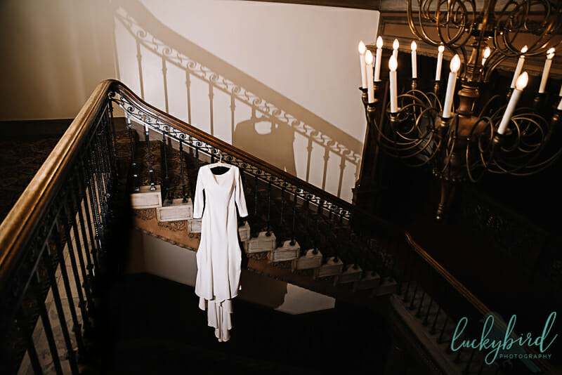 royal wedding inspired wedding dress at toledo club