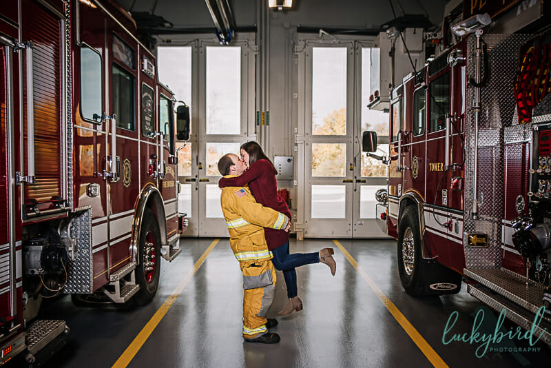 firefighter engagement session perrysburg