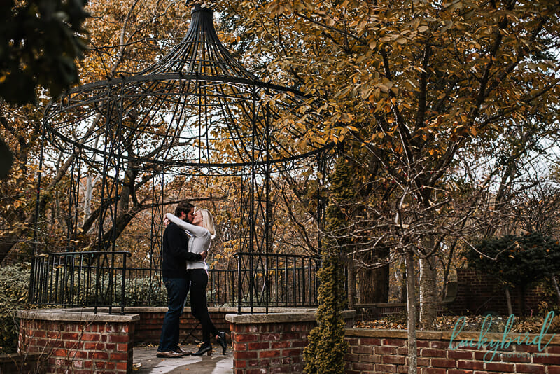 wildwood fall engagement photos by manor house