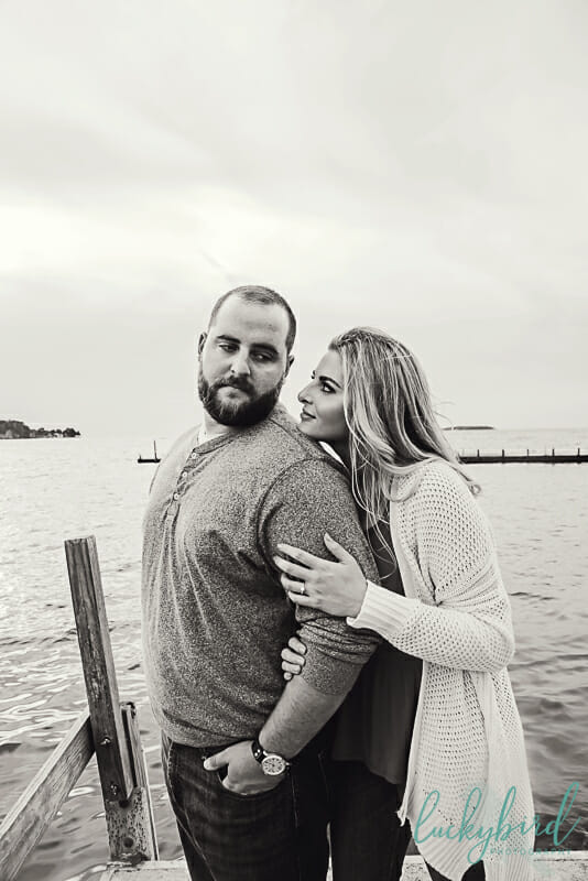 engagement pictures at put in bay