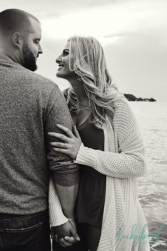 put in bay engagement photography