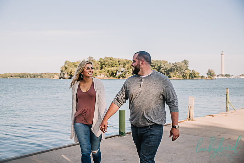 put in bay engagement pictures