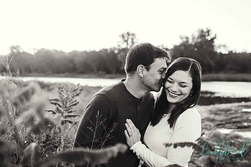 romantic engagement photos at sidecut