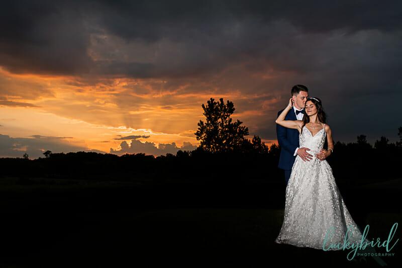 bowling green summer sunset wedding photography