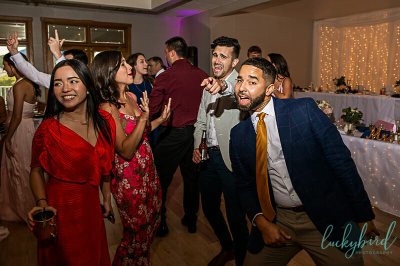 dancing reception photo at stone ridge