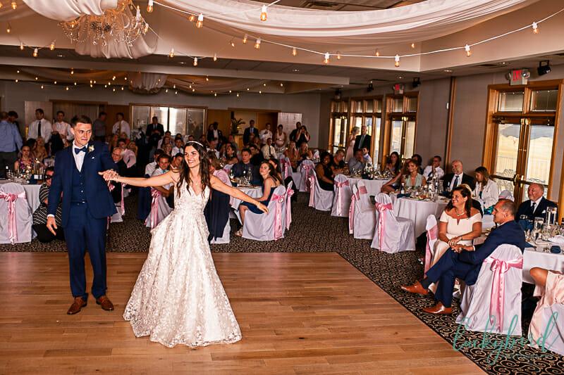 first dance at stone ridge bowling green wedding