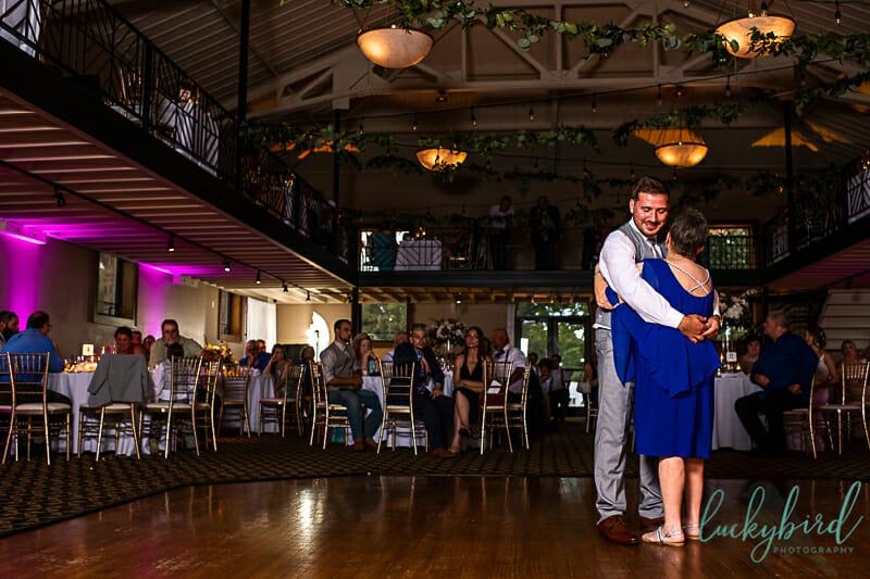grandma grandson dance at nazareth hall