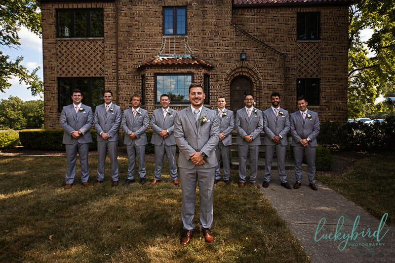 groomsmen at nazareth hall