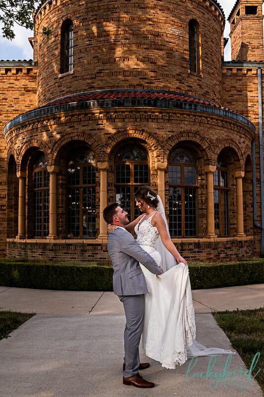 nazareth hall cadet west wedding photo with windows