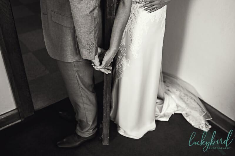 nazareth hall holding hands door photo
