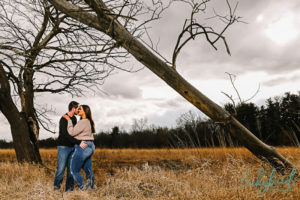 oak openings fall engagement session