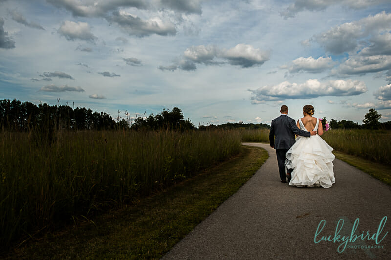 columbus ohio park wedding photo