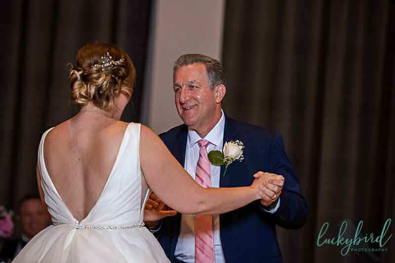 father daughter dance at the exchange at bridge park